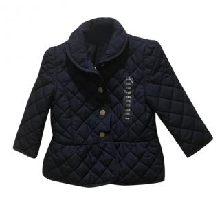 Ralph Lauren Blue girls bow jacket
