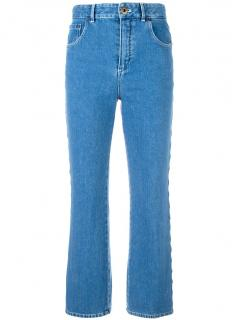 Chlo� scalloped jeans