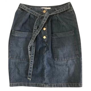 Chloe Blue Denim Skirt