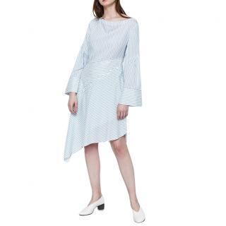 3.1 Phillip Lim Women's Blue Striped Shirt Dress