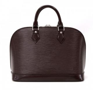 Louis Vuitton Moca Epi Leather Alma Bag