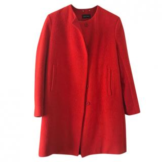 Sophie Hulme red wool coat