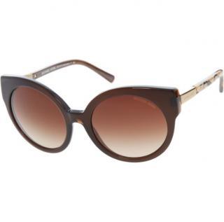 Michael Kors Tortoiseshell Round Sunglasses