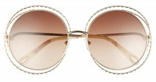 Chloe Carlina Twist Sunglasses