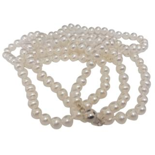 Bespoke Akoya Pearl Necklace 18ct Gold 24 inch