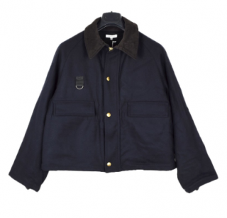Surface To Air wool cropped cashmere-blend jacket
