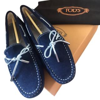 Tods Blue Heaven Loafers