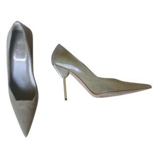 Christian Dior Stingray Taupe Pumps