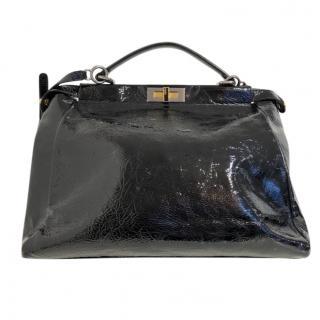 Fendi Patent Peekaboo Bag