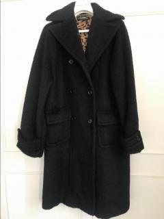 Dolce & Gabbana Oversize Wool Coat