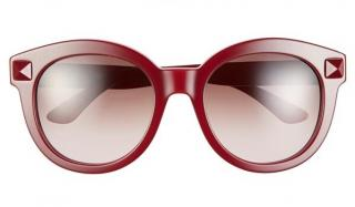 Valentino red rockstud sunglasses