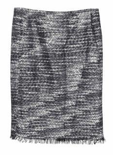 Donna Karan woven knit pencil skirt