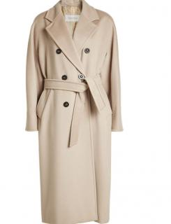 MAX MARA Madame Cashmere Wool Double Breasted Coat