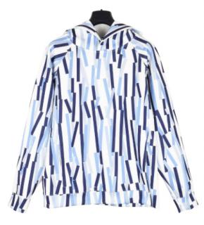 Christopher Kane bolster print neoprene hoodie