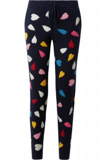 Chinti and Parker Cashmere Heart Joggers