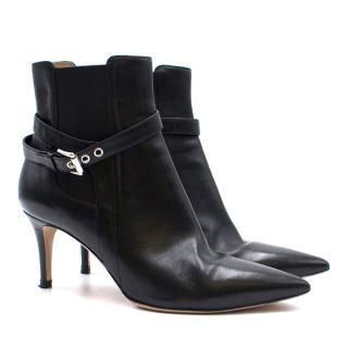 Gianvito Rossi Leather Stiletto Ankle Boots