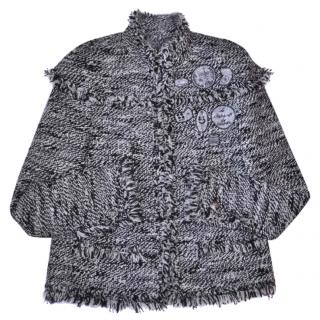 Chanel fantasy tweed fringed