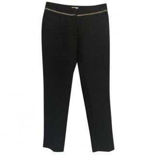 Claudie Pierlot Pantin black cotton/wool tapered trousers