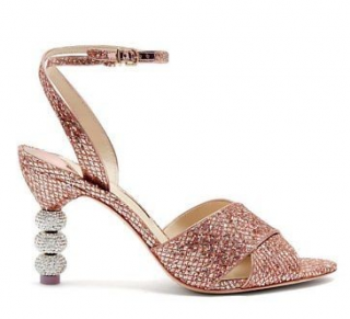 Sophia Webster Natalia Mid Ball Glitter Sandals