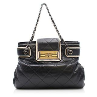 Chanel Quilted Leather Chain Strap Shoulder Bag