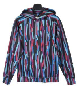 Christopher Kane broken bolster print hoodie