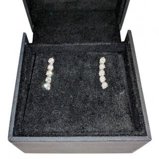 Beverly Hills London Drop stud diamond earrings