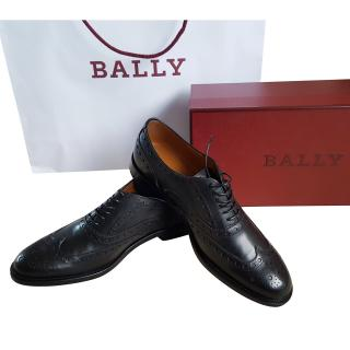 Bally lace up brogue shoes