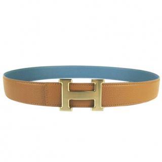 Hermes H reversible belt
