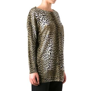 EmanueL Ungaro Animal Print Jumper