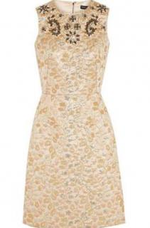 Dolce & Gabbana crystal embellished dress