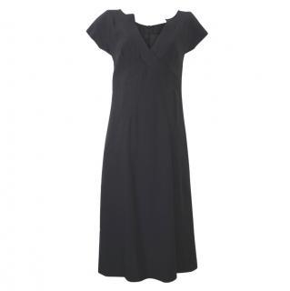 Alexander McQueen Fitted Black Dress