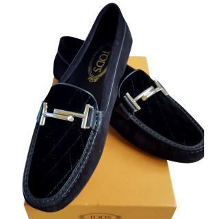 Tod's Gommini Maxi Doppia T driving shoe