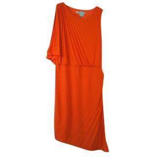 Halston Heritage Pleated Dress
