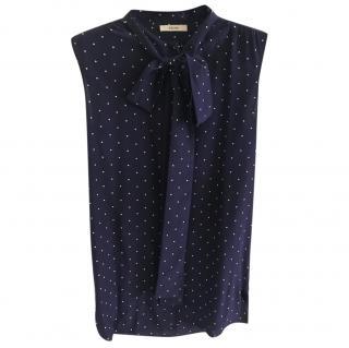Celine bow blouse