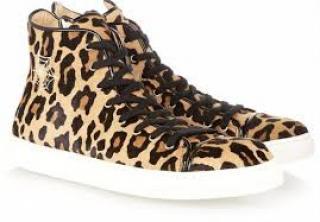 Charlotte Olympia hi-top sneakers