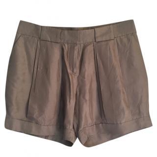 Celine Silk Shorts