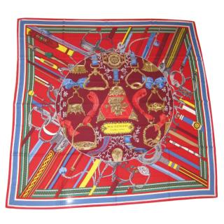 Hermes Duo d'Etriers 140 Shawl