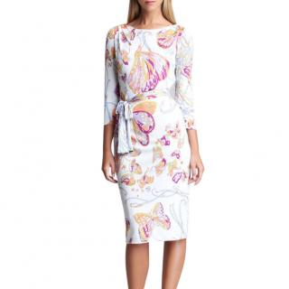 Emilio Pucci 'Marilyn' Butterfly Print Dress