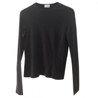 Philosophy di Alberta Ferretti black wool sweater