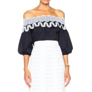 Peter Pilotto Pallas Off The Shoulder Blouse