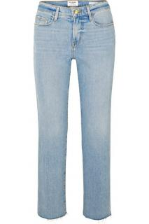 Frame Le Nouveau Straight Blue Jeans