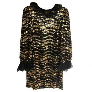 Dolce Gabbana Pythontrimmed Crochet Miss Sicily Bag   HEWI London f4e74a3eb2