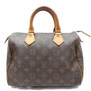 Louis Vuitton Speedy 25 Brown Monogram Hand Bag