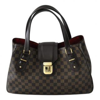 Louis Vuitton Griet Handbag Damier Ebene Canvas Tote