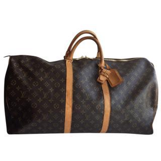 Louis Vuitton Keepall 60 cloth 48H bag