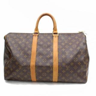 Louis Vuitton Keepall 45 Mnogram Boston Bag