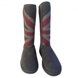 Ugg Australia Swarovski Encrusted Limited Edition Tall Boots