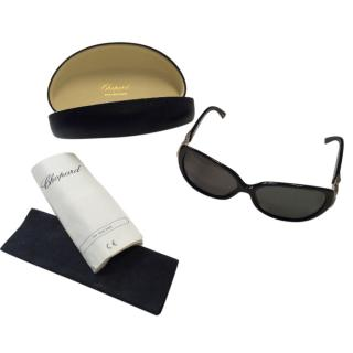 Chopard Oversized Sunglasses with Chain Detail