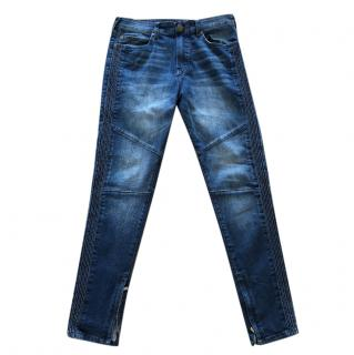 True Religion Ankle Zip Jeans