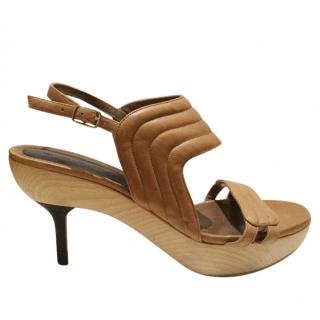 Marni Runway Wooden Sandals